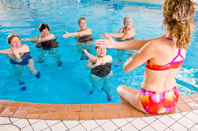Salle de sport aquagym Le Taillan-Medoc