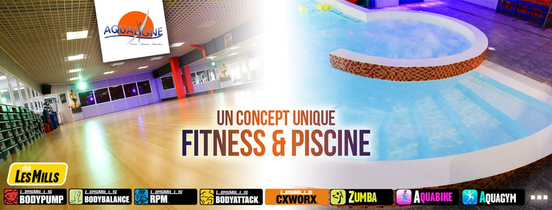 Un concept unique : Fitness et piscine