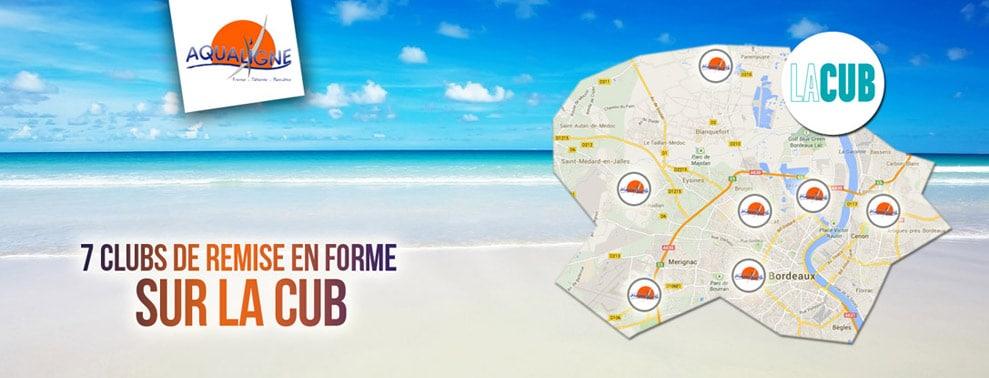 7 clubs de remises en forme sur la CUB