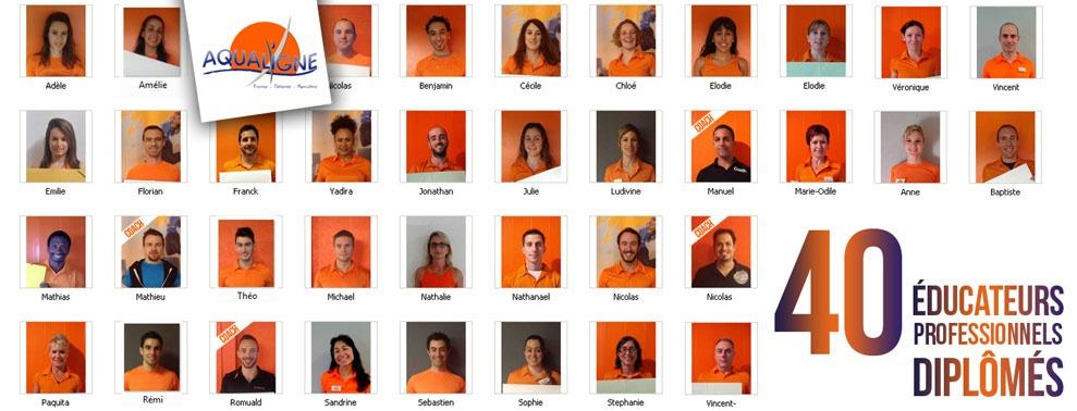 40 éducateurs professionnels diplômés