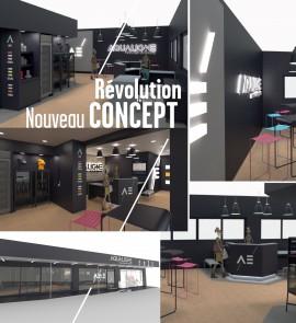 Nouveau concept fitness design AQUALIGNE