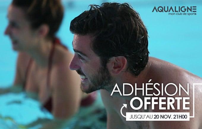 Adhésion Offerte Aqualigne