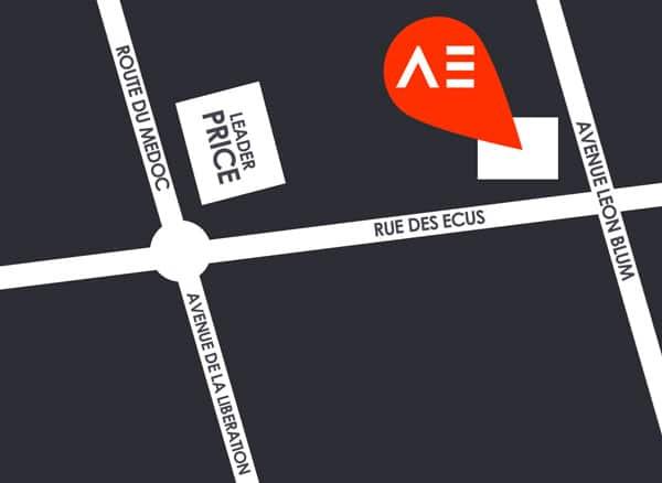 Plan Aqualigne Le Bouscat