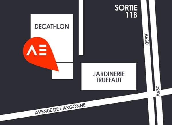 Plan Aqualigne Mérignac