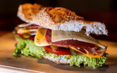 Repas rapide : le sandwich (fait maison)