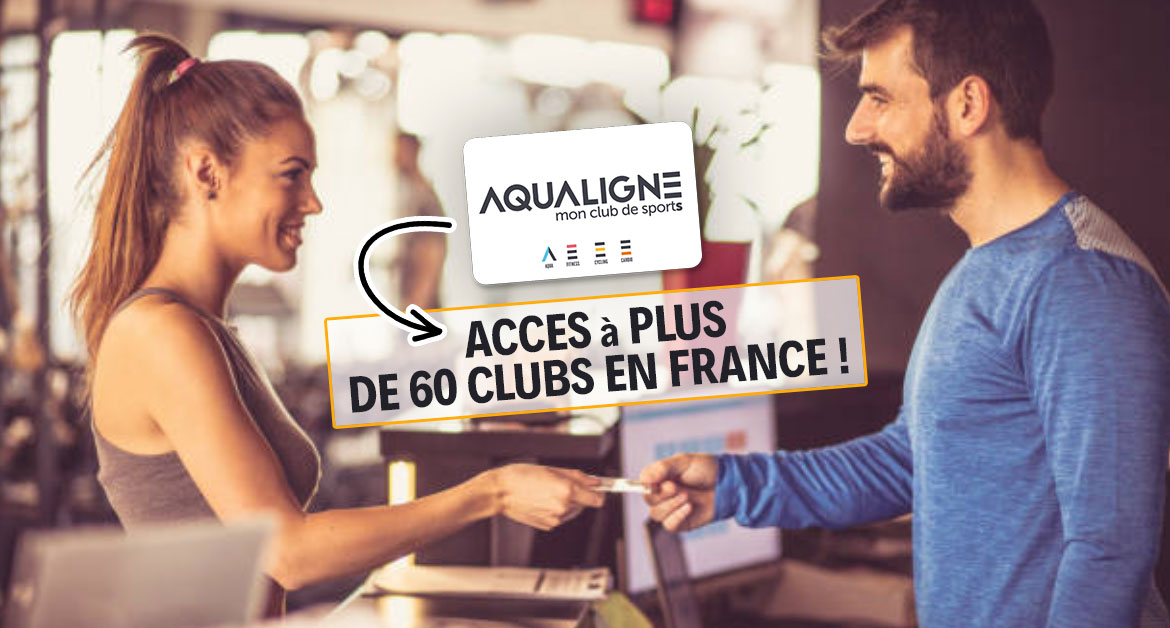 Aqualigne Acces A De 60 Clubs De Sport En France